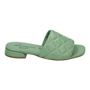 ALTRAMAREA Slipper 12818 Mint Leer