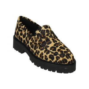 Tango Loafer BEE BOLD 40-A Bruin Leopard Pony