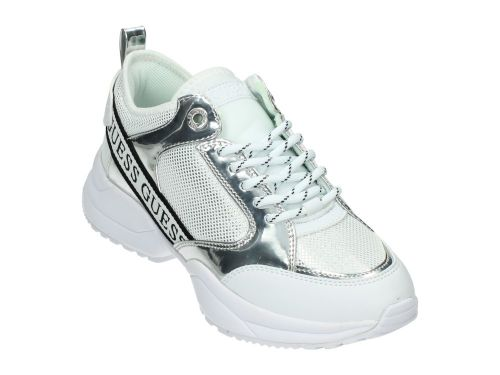 GUESS BREETA Active Lady Silver Leather Like 36-41
