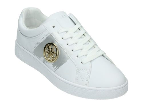 GUESS REIMA Active Lady White/Gold Leather 36-41