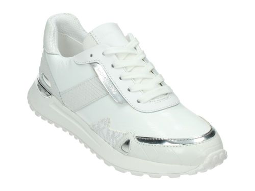 M.K Monroe Trainer Bright White Leather 36-40