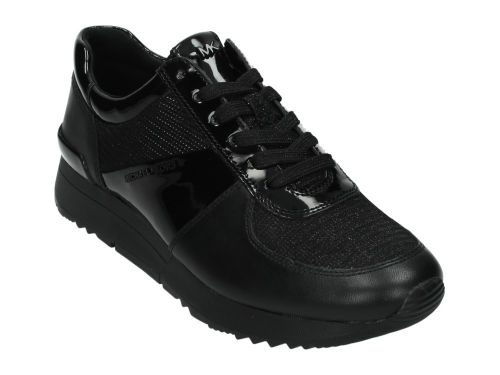 M.K Allie Trainer Black Glitter Chain Mesh 36-40