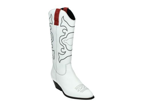 Tango Westernlaars ANNE White Leather 36-41