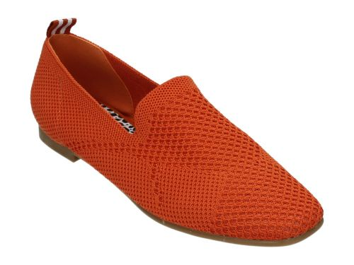 La Strada Loafer 1804422 Dark Orange Knitted 36-41