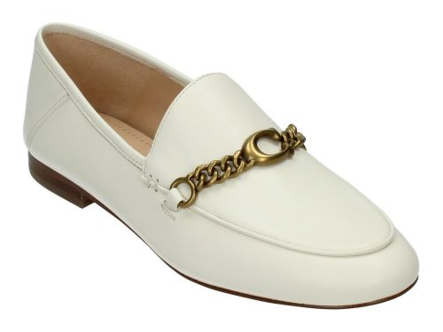 COACH Loafer HELENA Chalk Leather 36-41